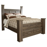 Juararo - Juararo Queen Poster Bed with Storage