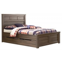 Juararo - Juararo Full Panel Bed with Trundle or 1 Large Storage Drawer
