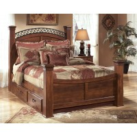 Timberline - King Poster Bed with Storage