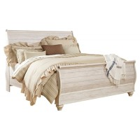 Willowton - King Sleigh Bed