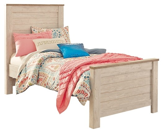 Willowton - Twin Panel Bed