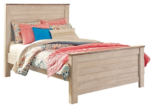Willowton - Full Panel Bed