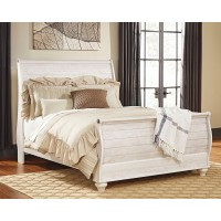 Willowton - Queen Sleigh Bed