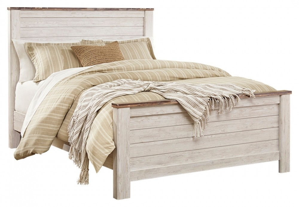 Willowton - Willowton Queen Panel Bed