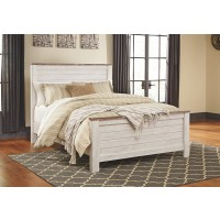 Willowton - Queen Panel Bed