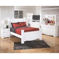 Weeki Queen Poster Bed with Storage