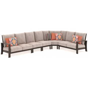 Cordova Reef - Cordova Reef 5-Piece Outdoor Seating Set