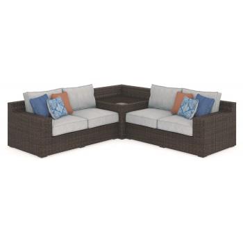 Alta Grande 3-Piece Outdoor Seating Set