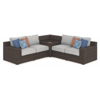Alta Grande - 3-Piece Outdoor Seating Set