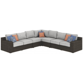 Alta Grande 5-Piece Outdoor Seating Set