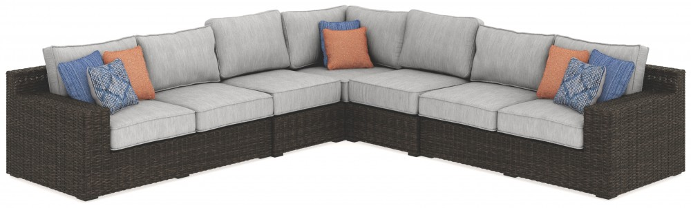 Alta Grande 5-Piece Outdoor Seating Set