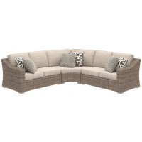 Beachcroft - Beachcroft 3-Piece Outdoor Seating Set