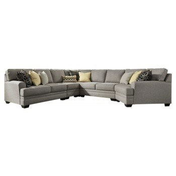 Cresson - 5-Piece Sectional with Cuddler