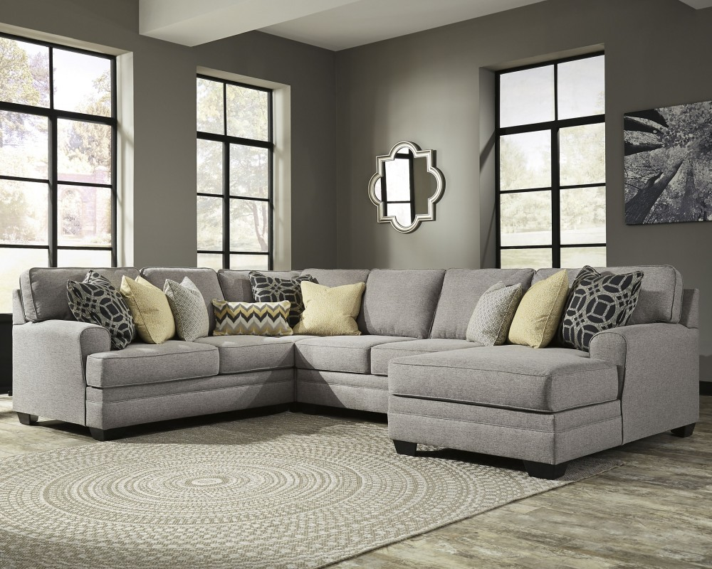 Cresson Cresson 4 Piece Sectional With Chaise 54907s6