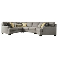 Cresson - 4-Piece Sectional with Cuddler