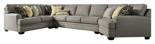 Cresson - Cresson 4-Piece Sectional with Cuddler
