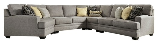 Amazing Cresson Cresson 5 Piece Sectional With Cuddler Caraccident5 Cool Chair Designs And Ideas Caraccident5Info