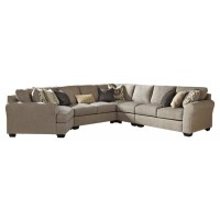 Pantomine - 5-Piece Sectional with Cuddler