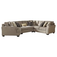 Pantomine - 4-Piece Sectional with Cuddler