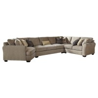 Pantomine - Pantomine 4-Piece Sectional with Cuddler