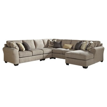 Pantomine - 5-Piece Sectional with Chaise