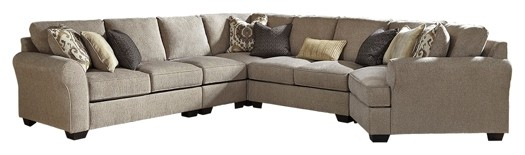 Fantastic Pantomine 5 Piece Sectional With Cuddler Caraccident5 Cool Chair Designs And Ideas Caraccident5Info