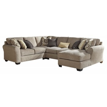 Pantomine - 4-Piece Sectional with Chaise