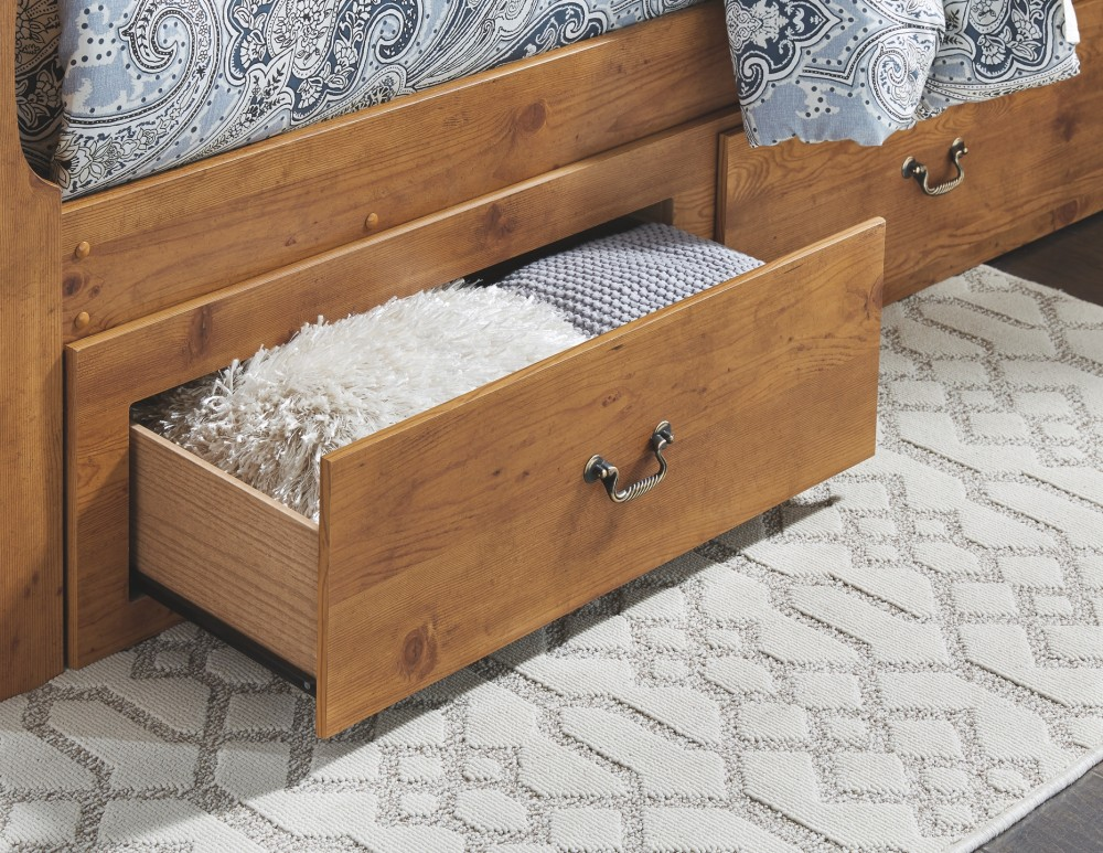 Bittersweet Queen Sleigh Bed With 2 Storage Drawers B219b58 B21950 B21963 B21965 B21986