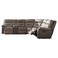 Hacklesbury 4-Piece Reclining Sectional with Power