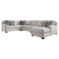 Dellara - Dellara 4-Piece Sectional with Chaise