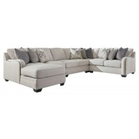 Dellara - Dellara 5-Piece Sectional with Chaise