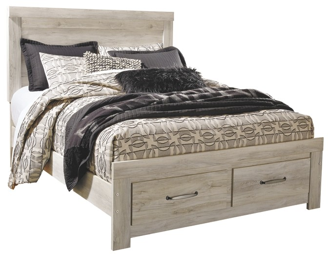 Bellaby - Queen Platform Bed with 2 Storage Drawers