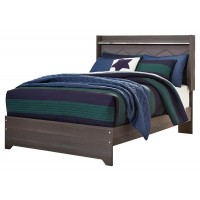 Annikus - Annikus Full Upholstered Panel Bed