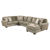 Patola Park - 4-Piece Sectional with Chaise
