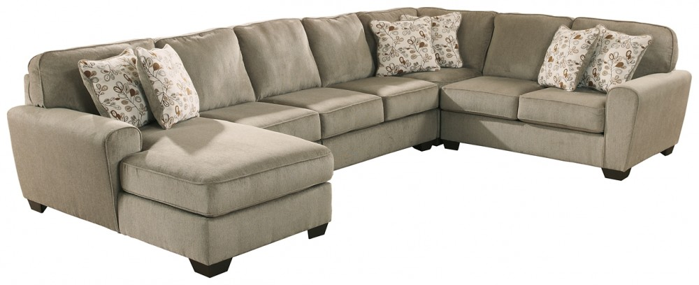 Patola Park - 5-Piece Sectional with Chaise