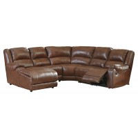 Billwedge 5-Piece Reclining Sectional with Chaise