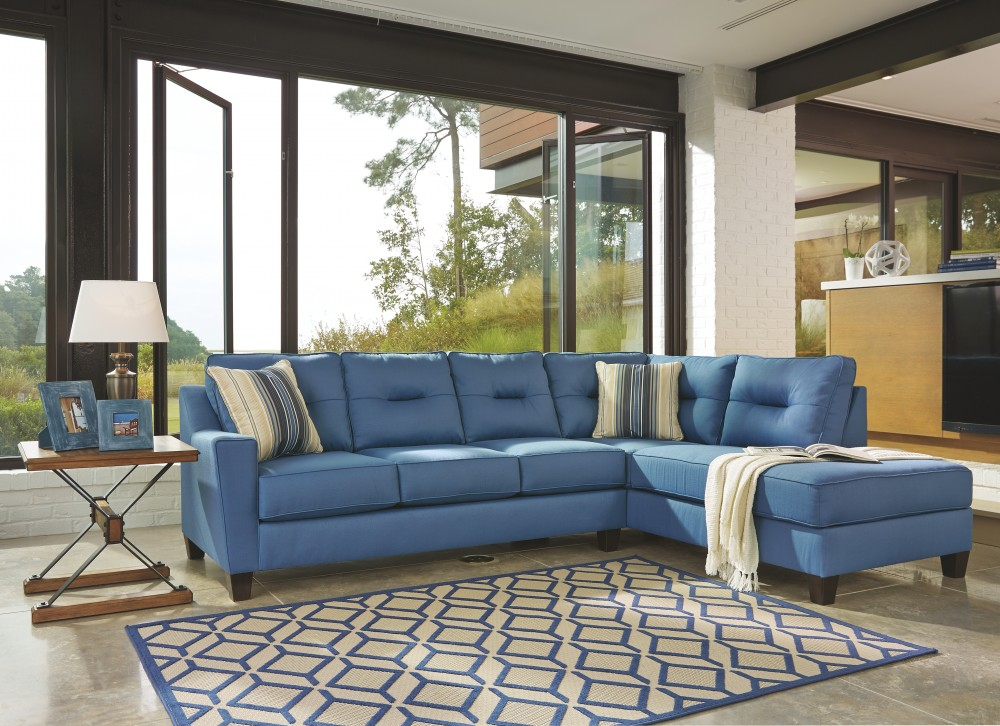 Kirwin Nuvella 174 2 Piece Sectional With Chaise 99603s2 17