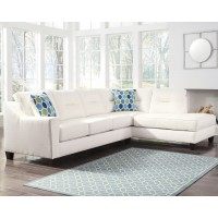 Kirwin Nuvella� 2-Piece Sectional with Chaise