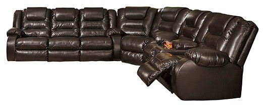 Vacherie - Vacherie 3-Piece Reclining Sectional