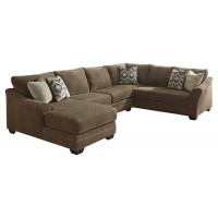 Justyna - Justyna 3-Piece Sectional with Chaise