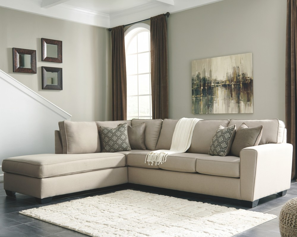 Calicho 2 piece sectional with chaise 91203s1 16 67 - Apartment sofa with chaise ...