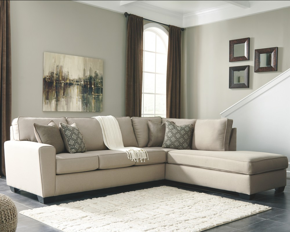 Calicho 2 Piece Sectional With Chaise 91203s2 17 66