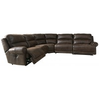 Luttrell - 5-Piece Power Reclining Sectional