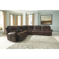 Luttrell - Luttrell 6-Piece Reclining Sectional