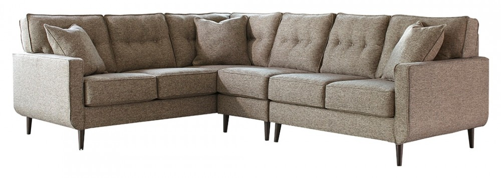 Dahra 3-Piece Sectional with Chaise | 62802S2/46/48/56 | Sectional ...
