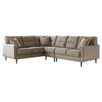 Dahra 3-Piece Sectional with Chaise