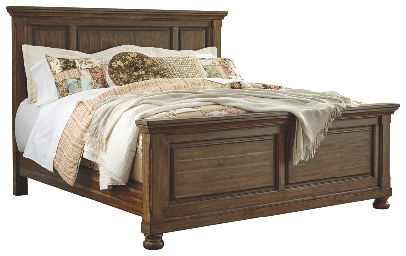 Flynnter - King Panel Bed