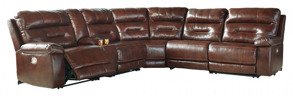 Bancker - 6-Piece Reclining Sectional with Power