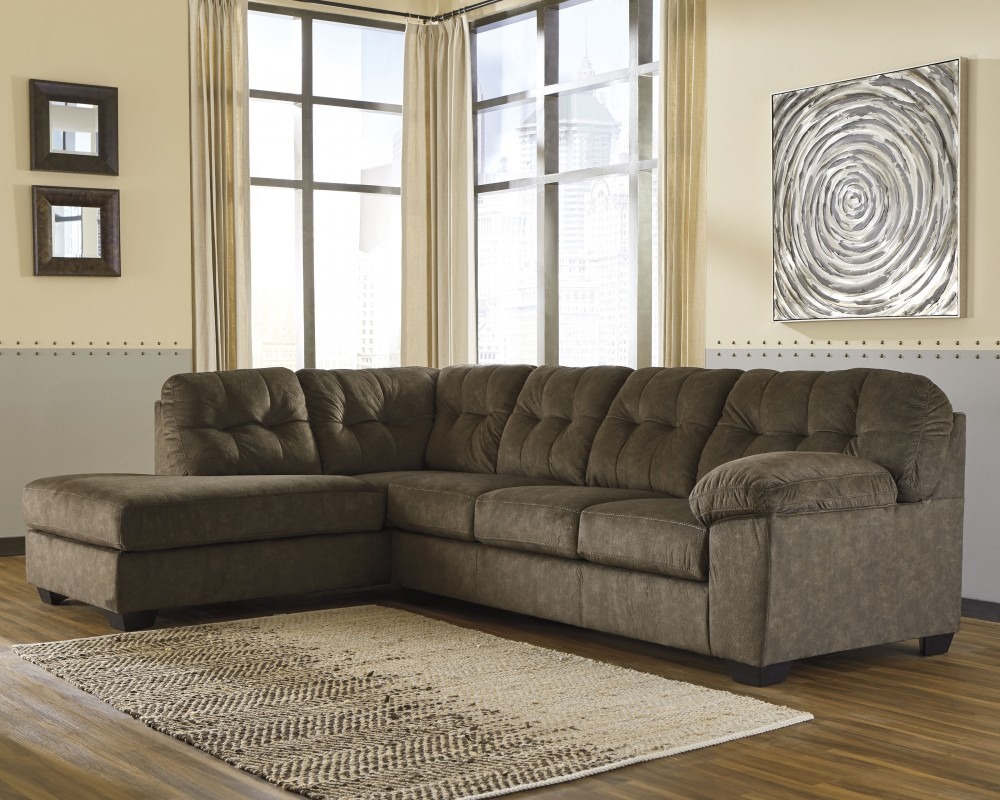 Accrington 2 piece sectional with chaise 70508s1 16 67 - Apartment sofa with chaise ...