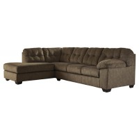 Accrington - Accrington 2-Piece Sectional with Chaise and Sleeper